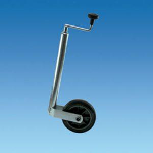 Jockey wheels, wheels and spares
